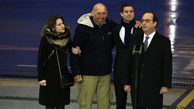 Último refém francês regressou a casa
