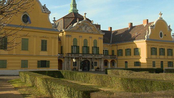 Concours de sapins de Noël au château Nagytétény