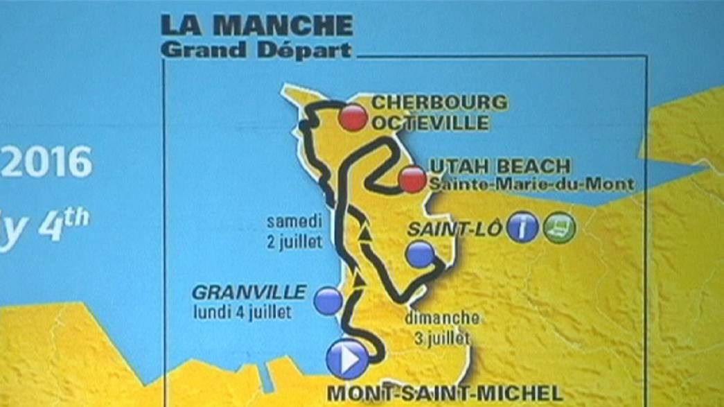 Tour de France startet 2016 in Mont St. Michel