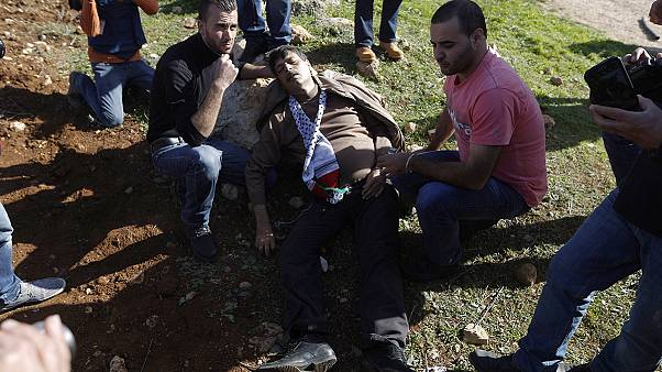 Palestinian minister dies at West Bank protest
