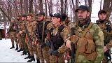 Ucrânia: Unidade chechena 'morte' combate Kiev