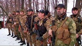 """Добровольческий чеченский """"Батальон смерти"""" на защите Донбасса"""