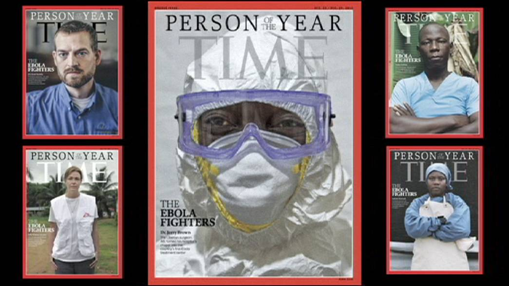 """Ebola fighters"" named as Time magazine's Person of the Year"
