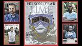مجلة تايم تمنح لقب شخصية العام للعاملين في مكافحة فيروس إيبولا