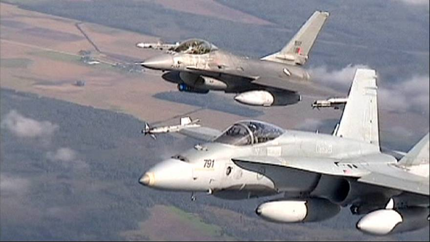 Rus uçaklarına NATO müdahalesi