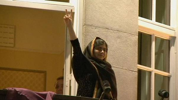 Celebrations in Oslo as Nobel Peace Prize winners officially receive the award