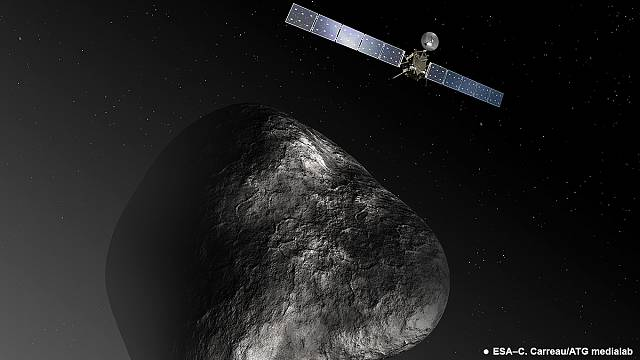 Comet didn't bring water to Earth, according to early Rosetta results