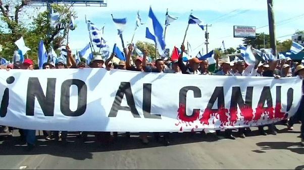 Νικαράγουα: Βροντερό «όχι» στη νέα διώρυγα