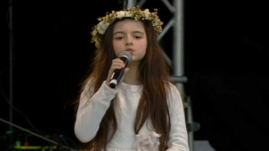 Oslo: Children concert in the honour of Nobel Prize winners