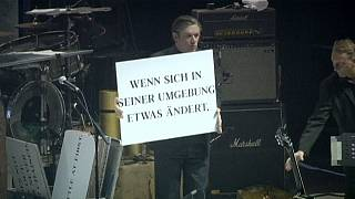 German cult band Einstürzende Neubauten commemorate WWI