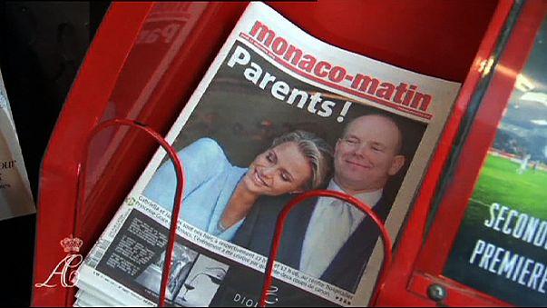 Los príncipes de Mónaco ya son padres