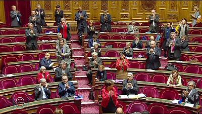 French Senate backs recognition of Palestinian state
