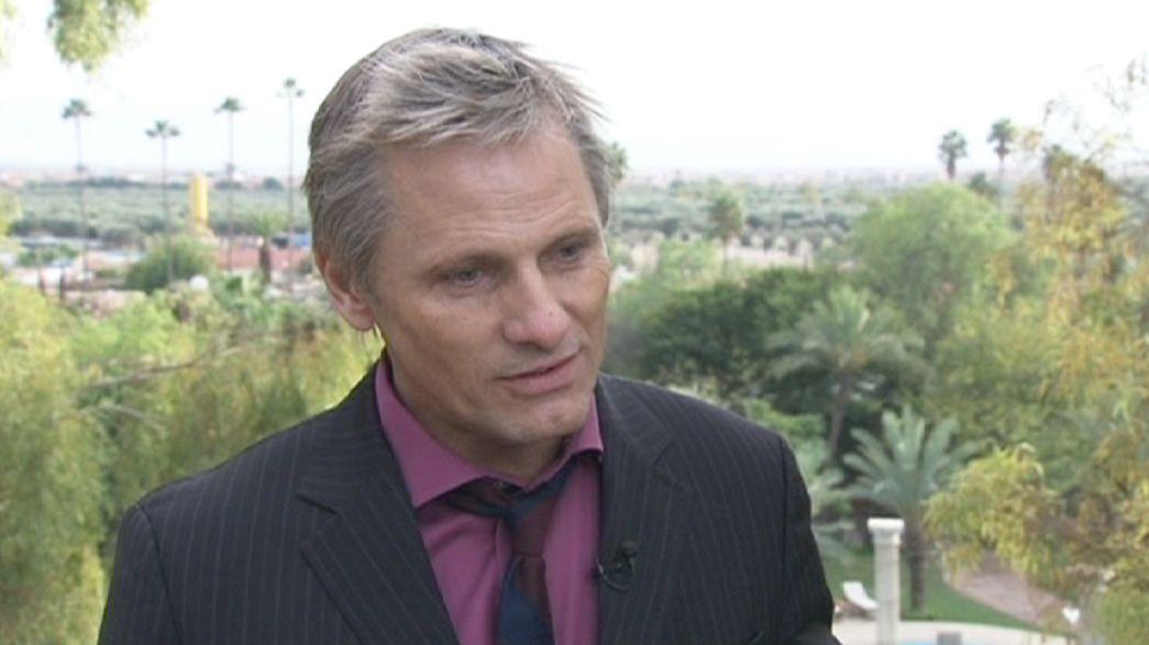 Begegnung mit Viggo Mortenson und der Jury von Marrakesch