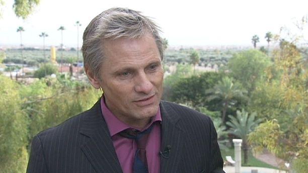 Viggo Mortensen honoured at Marrakech Film Festival
