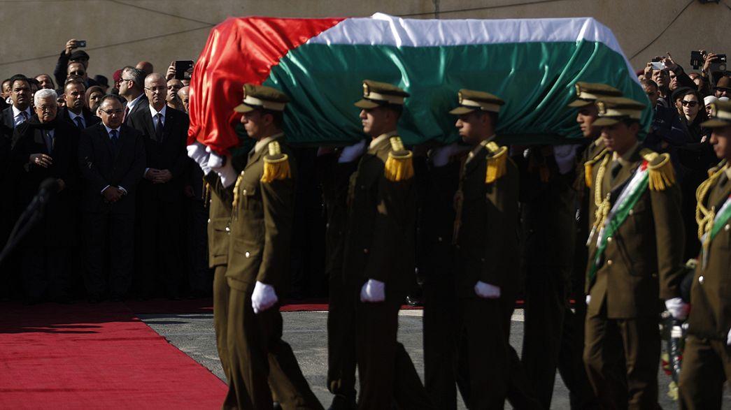 Ramallah, scontri dopo funerale ex ministro palestinese