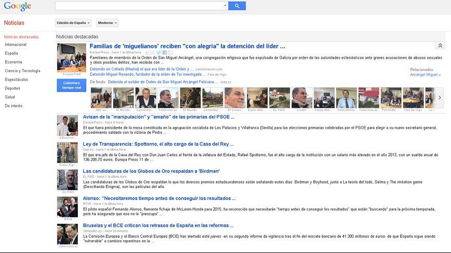 """Adios, Google News: claves de la """"tasa AEDE"""" en España"""