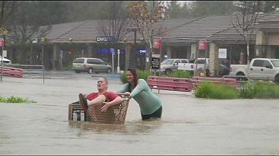 Kalifornien: Nach der Dürre kam die Flut