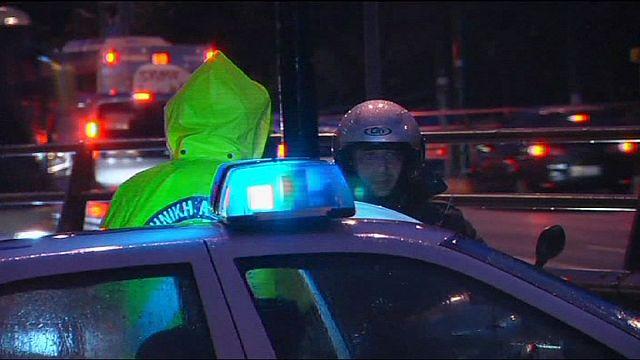 В Афинах ищут напавших на посольство Израиля