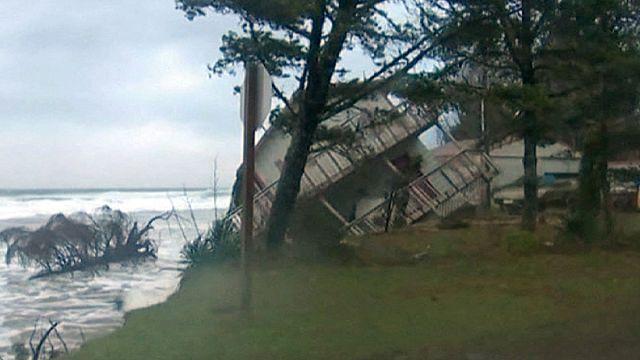 ABD'nin batı kıyılarında kötü hava alarmı