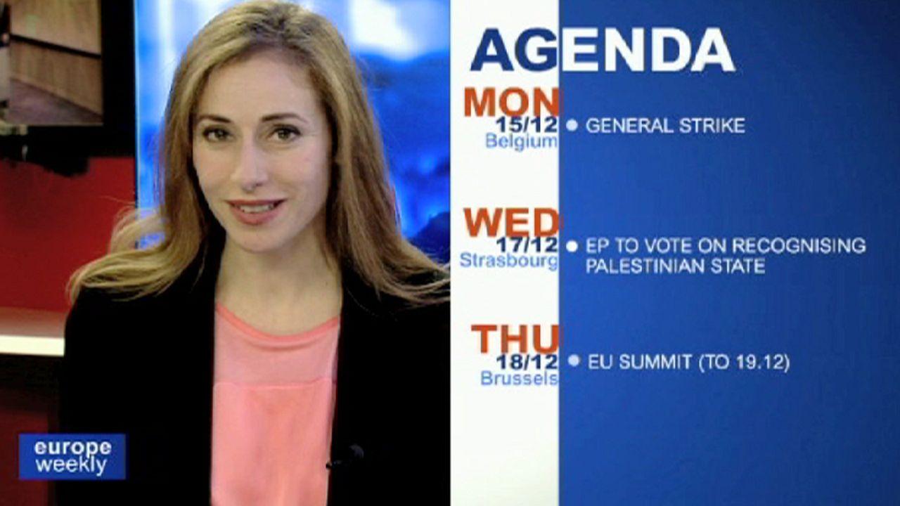 برنامج يوروب ويكلي للاسبوع الثاني من شهر كانون الاول ديسمبر 2014