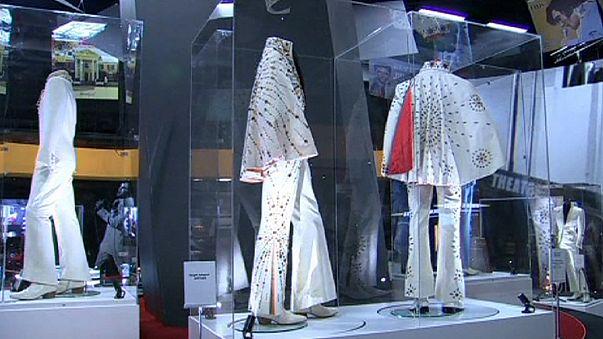 معرض لمقتنيات إلفيس بريسلي في لندن