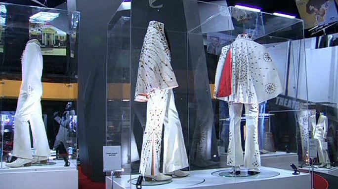 Elvis Presley'e ait özel eşyalar Londra'da sergileniyor