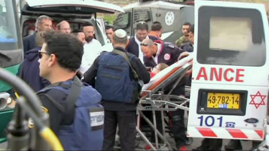 Palestinian acid attack injures Jewish children near Jerusalem