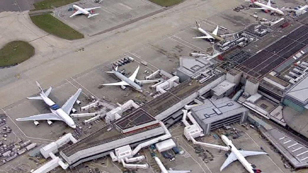 Trafic aérien perturbé en Grande-Bretagne