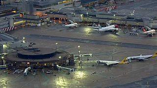 ترافیک هوایی در لندن از سر گرفته شد