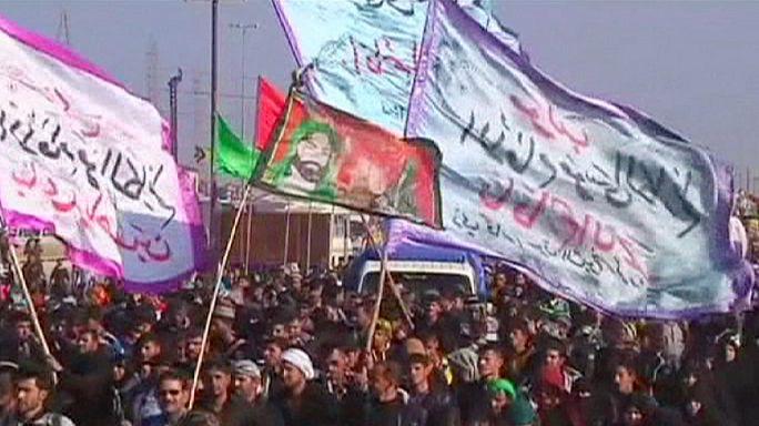 Ирак: рекордное число паломников прибыло в Кербелу на могилу имама Хусейна
