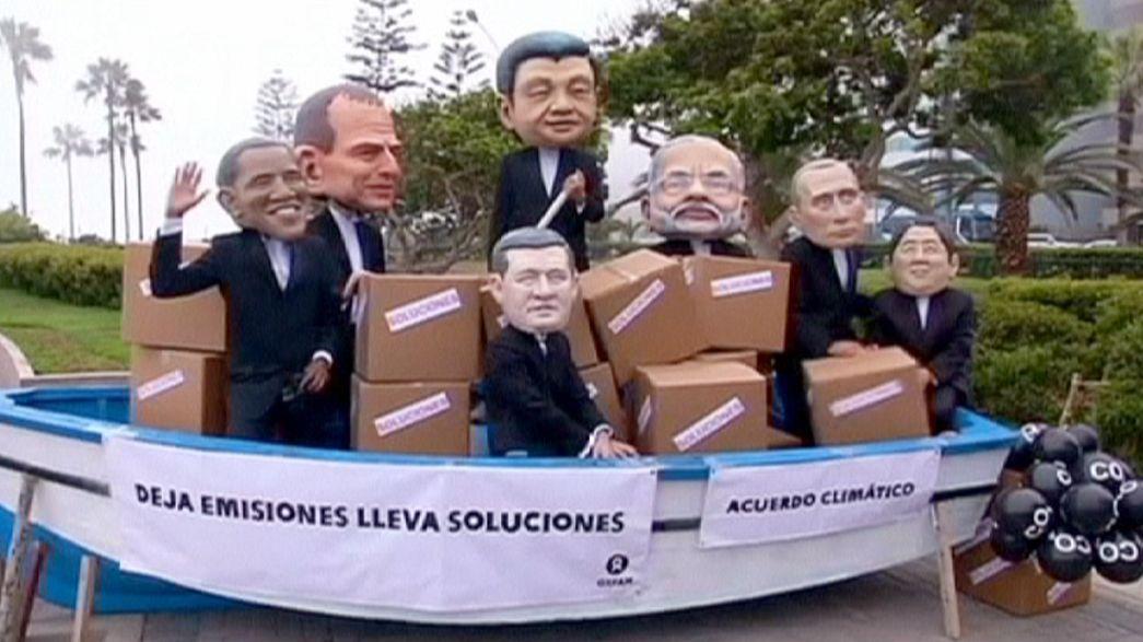 اختتام أعمال مؤتمر المناخ في ليما