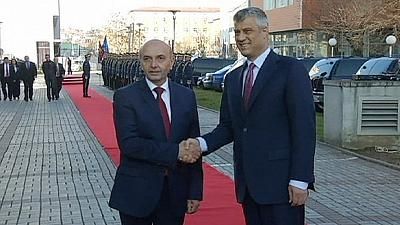 Kosovan Prime Minister Isa Mustafa sworn in as unions threaten strike action