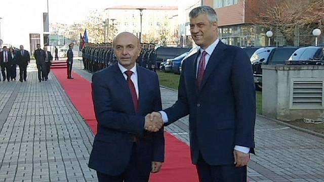Kosovan Prime Minister Isa Mustafa sworn in as unions threaten strike action