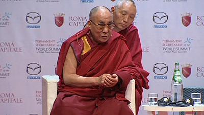 Nobel Peace Prize winner criticises Pope's refusal to meet the Dalai Lama in Rome