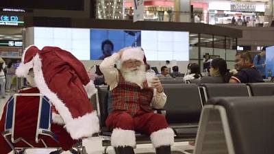 Santa Flies Coach (Expedia, Inc.)