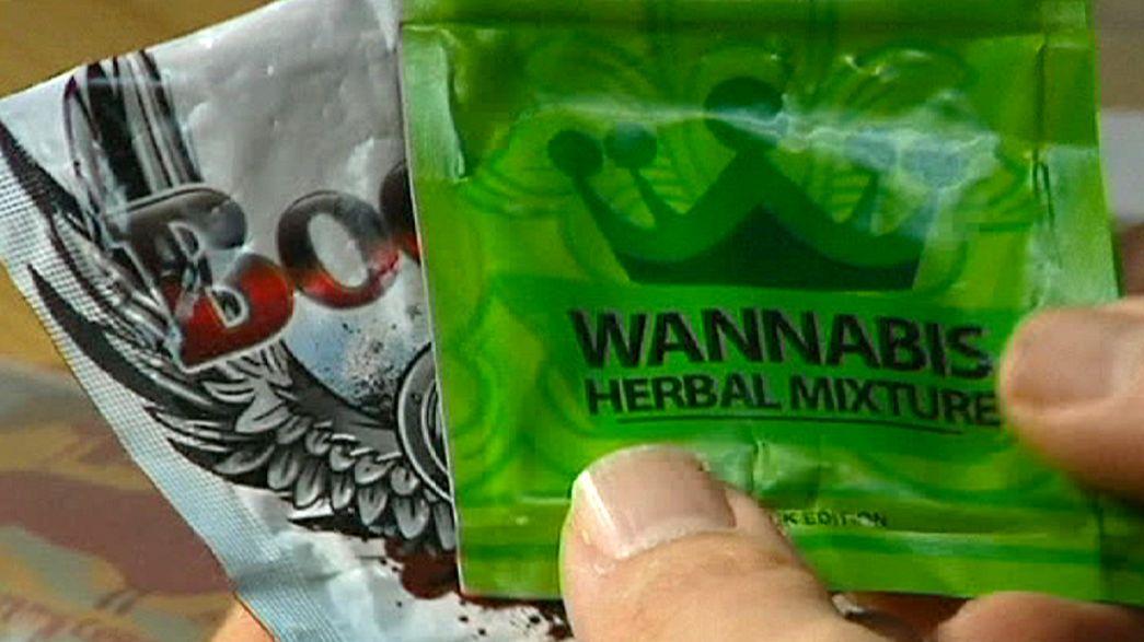 """Les policiers suédois traquent la drogue """"Spice"""" sur le web"""