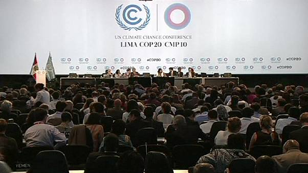 Global leaders extend UN Lima talks on climate change