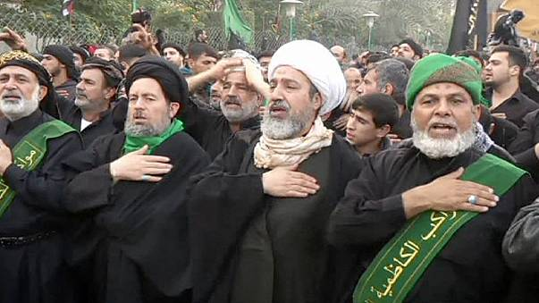 """Irak: Trotz Terrorgefahr feiern Millionen Schiiten das Trauerfest """"Arbain"""""""