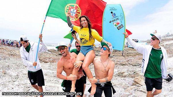 Bodyboard: Teresa Almeida vence Neymara Carvalho e é campeã do Mundo