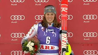 Historic slalom win for Sweden's Pietilae-Holmner