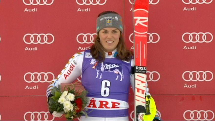 Schwedische Slalom-Show