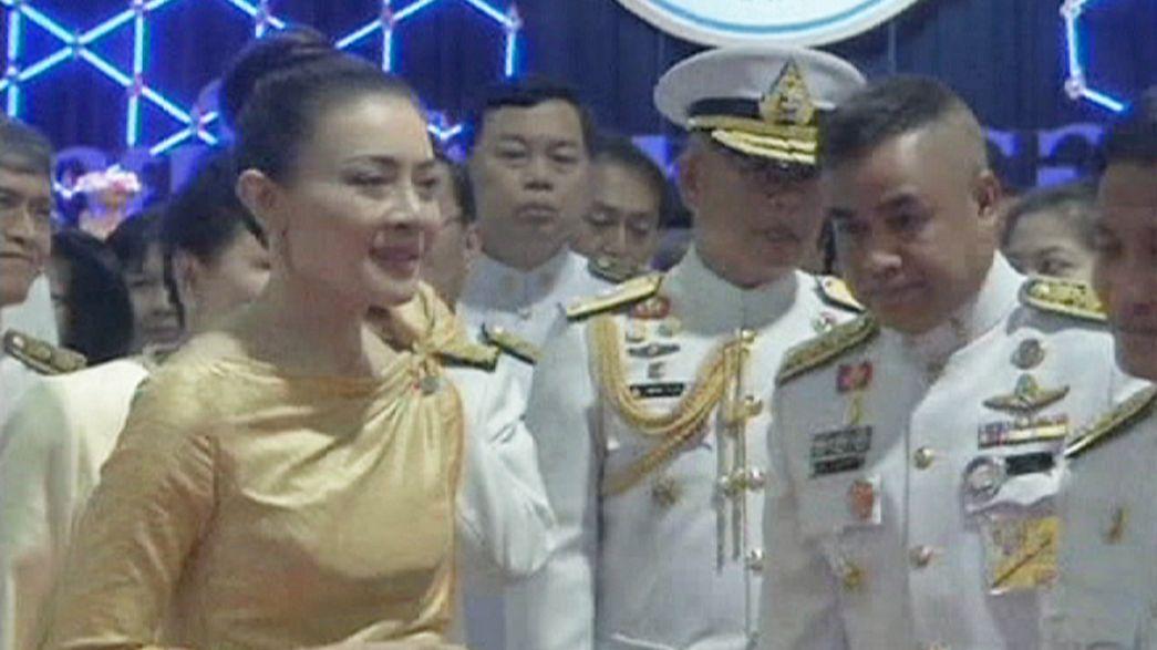 فضيحة تجبر زوجة ولي عهد تايلاند التخلي عن لقبها الملكي