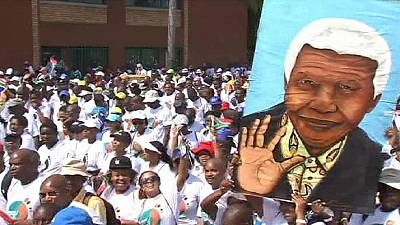 Graca Machel leads Mandela commemoration on first anniversary of South African President's death