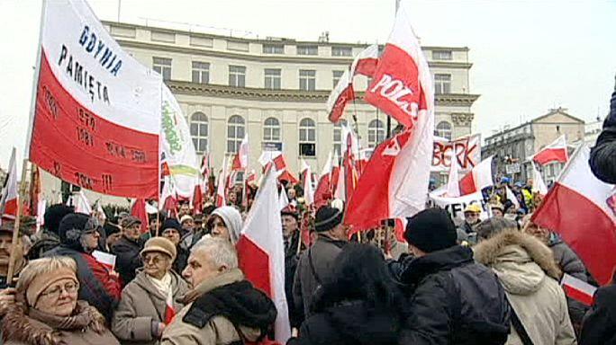 Польша: марш в защиту демократии
