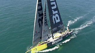 """""""Брунель"""" выиграл второй этап Volvo Ocean Race"""