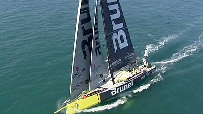 El Brunel holandés, vencedor de la segunda etapa de la Volvo Ocean Race