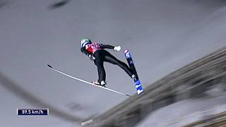 Maiden World Cup ski jump win for Norwegian Fannemal