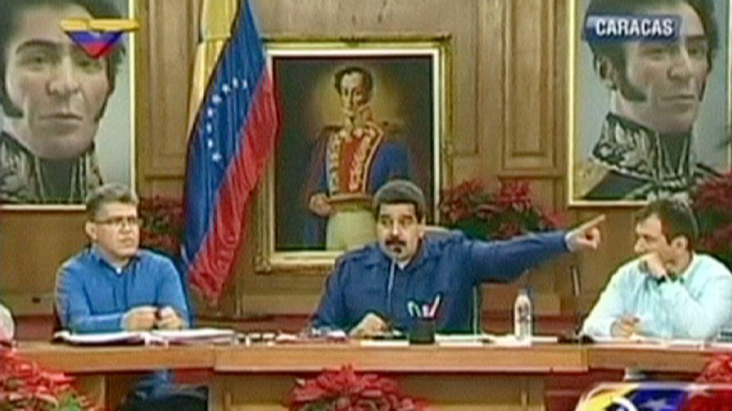 Венесуэла: обвинения Мадуро в адрес экс-премьера Испании Аснара