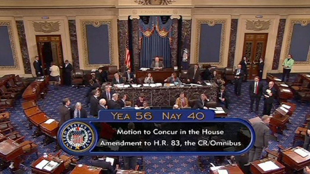 El Senado aprueba el presupuesto del Gobierno estadounidense para 2015
