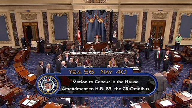 Szenátusi igen az amerikai költségvetésre
